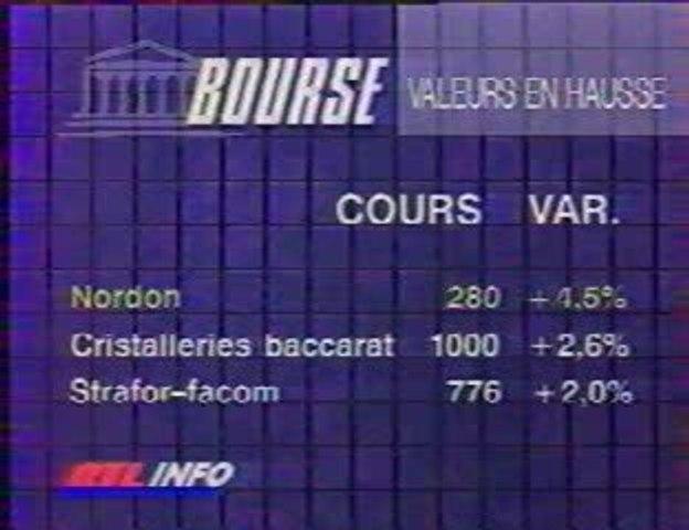 La Bourse sur RTL TV