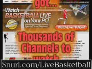 NBA live basketball