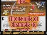 Watch college basketball, NBA basketball online