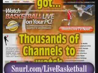 Watch live NBA, basketball and other basketball leagues