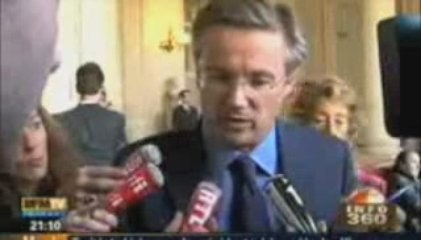 Jean Sarkozy à l'EPAD : ca tangue à droite