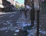 Grève des éboueurs à Toulouse
