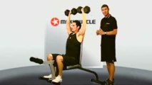 Seated Dumbbell Press Demonstration Video - Maximuscle