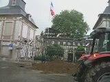 Manifestation des agriculteurs à Beauvais