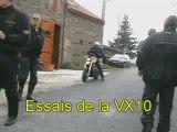 Présentation de la Voxan VX10 chez Auvergne Motos Classiques