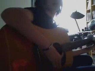 AlexMog-Dernière Danse Accoustic-Kyo-(Guitar Cover)