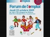 Spot Radio pour le forum de l'emploi de Nogent-le-Rotrou