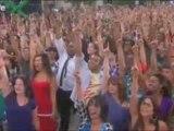 Black Eyed Peas Chorégraphie géante I Gotta Feeling