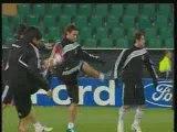 Beşiktaş, Wolfsburg Maçı Hazırlıklarını Tamamladı