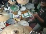 drummer sridhar drums solo spinning stick