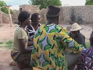 Docu-fiction à Tanlarghin, Burkina Faso