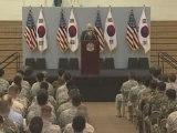 Secretary of Defense Gates Speaks To Yongsan Garrison