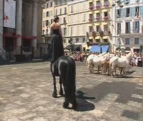 Sirènes et midi net, Théâtre du Centaure, Opéra flux