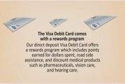 Payroll Debit Card,Direct Deposit Cards,Visa Debit Card