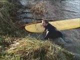 Surfing the Severn Bore Nov 08