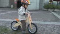 Premier jour en draisienne Like a Bike (2 ans)
