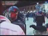 Marseillais frappe  supporters parisiens bien comme y faut.