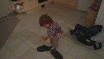 lisa et les chaussures de son père