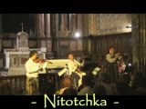 Chants Russes & Tziganes par Galia avec le trio d'alexei B..