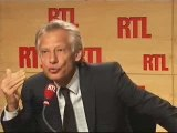 "Dominique de Villepin sur RTL : ""L'affaire Clearstream..."""