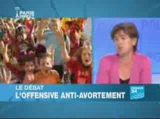 Manifestations monstres à Madrit contre l'avortement : débat