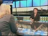 Michèle André et Michèle Tabarot sur la parité UMP/PS (LCP)