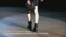 Alexander Wang Fall Winter 2009 Video by Karen Kooper