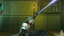 CrisisCore : Final Fantasy VII - Zack vs Sephiroth