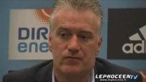 """Didier Deschamps : """"Il y avait largement la place"""""""