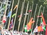 Jamboree 2006 - Début cérémonie d'ouverture