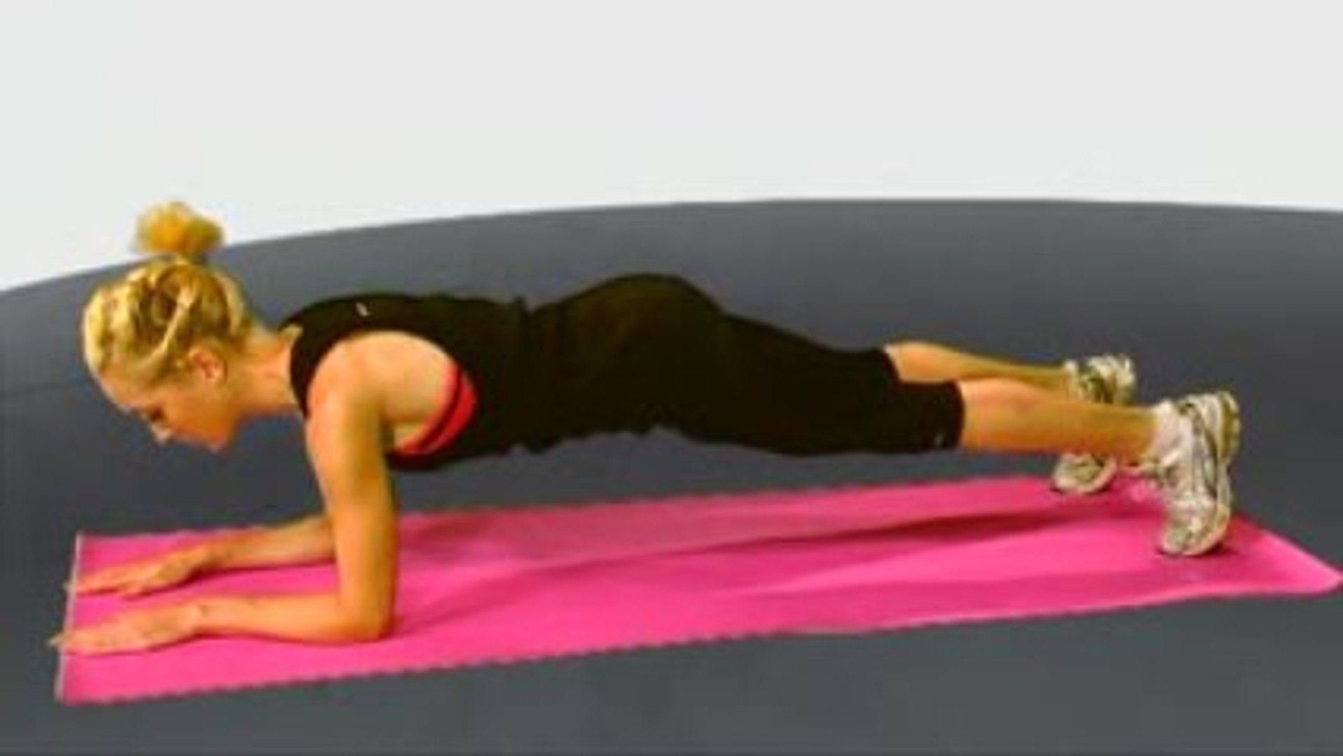 Plank - Womens exercise training videos from Maximuscle