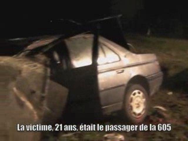 Accident mortel à Any-Martin-Rieux : un Ardennais tué