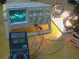Emission ondes électromagnétiques par les fluocompactes