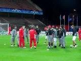 Το SPORT 24 με τον Ολυμπιακό στη Λιέγη - Προπόνηση (2)