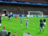 Το SPORT 24 με τον Ολυμπιακό στη Λιέγη - Προπόνηση (6)