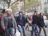 Bawdy Festival-Défillé des clowns soldiers