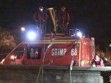 GRIMP 68 - exercice de treuillage au Pont Nessel