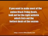 How to find the Best Black Friday Deals 2009- 3 Important Ti