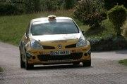 Caméra embarquée Manu Guigou Clio R3 Rallye Epernay 2009