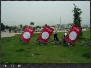 Cadde Life Dergisi İzmir lansmanı - Bisiklet Reklamciligi