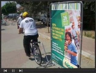 Tesco-Kipa Silivri Açılış Lansmanı-50 Reklam Bisikleti