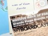 Mer d'Ecume de la Grande Plage Biarritz - 8 nov.09