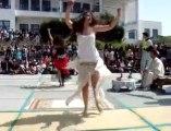Tunisian High School Student/ Lycéenne tunisienne danseuse