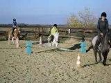 Sauts à poney - Cours du mercredi 11 novembre 2009