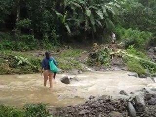 Daño de calles camino al Roble y la Joya San Pedro Nonualco