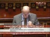 SEANCE,Projet de loi de financement de la sécurité sociale