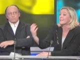debat Identite National avec Marine Le Pen Front National