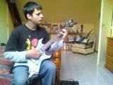 sweet dreams (marilyn manson) a la guitare