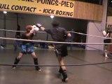 Kick boxing full contact boxe thai