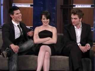 The Cast of New Moon on Jimmy Kimmel Live 2 (Nov 2009)